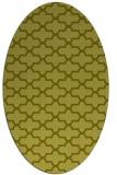 rug #169097 | oval light-green popular rug