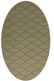 rug #169101 | oval light-green rug