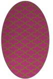 rug #169105 | oval light-green rug