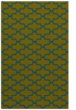 rug #169189    green geometry rug