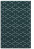rug #169201 |  blue-green traditional rug