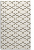 rug #169269    mid-brown geometry rug