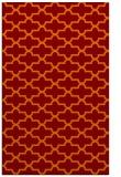 rug #169317 |  red-orange traditional rug