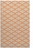 rug #169325 |  orange popular rug