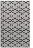 rug #169329    orange geometry rug