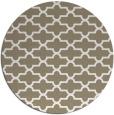 rug #169481 | round beige geometry rug