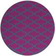 rug #169545 | round pink rug