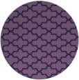 rug #169577   round purple popular rug