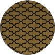 rug #169597 | round black geometry rug