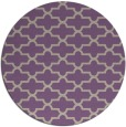 rug #169661   round purple traditional rug