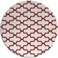 rug #169693 | round pink traditional rug