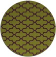 rug #169709 | round green geometry rug