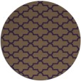 rug #169713 | round purple traditional rug