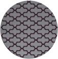 rug #169717 | round purple traditional rug