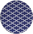 rug #169761 | round blue traditional rug