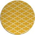 rug #169769 | round yellow geometry rug