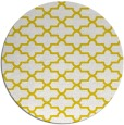 rug #169781 | round yellow traditional rug