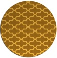 rug #169785 | round light-orange traditional rug