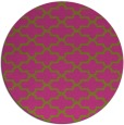 rug #169809 | round pink traditional rug