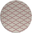 rug #169821 | round pink traditional rug
