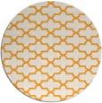 rug #169829   round light-orange traditional rug