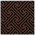 rug #170201 | square brown geometry rug