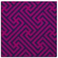 rug #170213 | square blue geometry rug