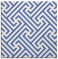rug #170225 | square blue geometry rug