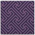 rug #170281 | square blue-violet geometry rug