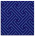 rug #170289 | square blue-violet retro rug