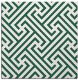 rug #170317 | square green rug