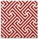 rug #170425 | square red popular rug