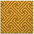 rug #170489   square yellow geometry rug