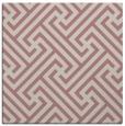 rug #170525   square pink retro rug