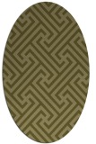 rug #170869 | oval light-green rug