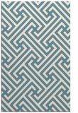 rug #170913    white retro rug