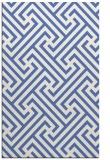 rug #170929    blue retro rug