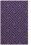 rug #170985 |  purple popular rug
