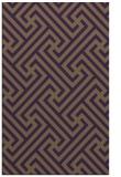 rug #171121 |  purple rug