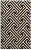 rug #171185 |  brown retro rug