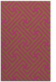 rug #171217 |  light-green retro rug