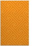 rug #171233 |  light-orange retro rug