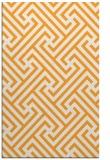 rug #171237 |  light-orange retro rug