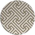 rug #171241 | round beige geometry rug