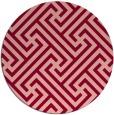 rug #171459 | round retro rug