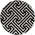 rug #171513   round white retro rug