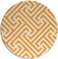 rug #171589 | round light-orange retro rug