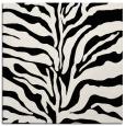 rug #171949 | square black stripes rug
