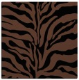 rug #171961 | square brown animal rug