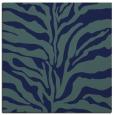 rug #171977 | square blue animal rug